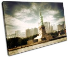 NYC Statue of Liberty Landmarks - 13-1805(00B)-SG32-LO